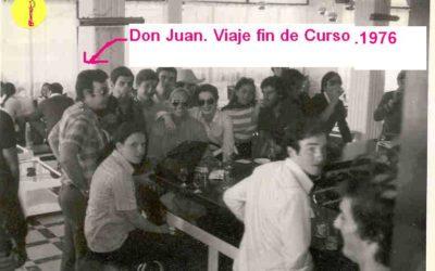 Don Juan Andrés Berruezo en Santoña. La elegancia, la clase y la caballerosidad de un profesor.