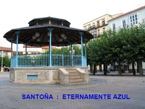 SANTOÑA ETERNAMENTE AZUL. CANTA MATÍAS SIMÓN VILLARES. LETRA DE SANTIAGO QUIRCE GANCEDO